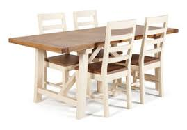 Axis Dining Table Dickins And Jones Axis Distressed Timber Dining Table And 4 Chairs