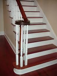 wooden stair tread