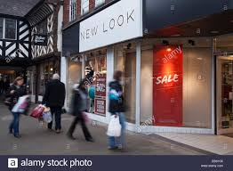 black friday sale stores chester cheshire uk 27th november 2014 new look store