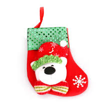 popular embroidered christmas stocking buy cheap embroidered