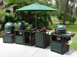 big green egg tablesoutdoor kitchen cabinets
