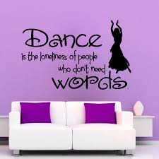 Dance Wall Murals Wall Stickers Quotes Dance Color The Walls Of Your House