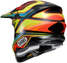 matte black motocross helmet shoei vfx w capacitor tc3 motocross helmet leatherup com