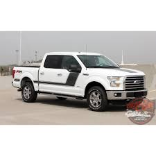 Ford F 150 Camo Truck Wraps - ford f 150 force two appearance package hockey side door vinyl