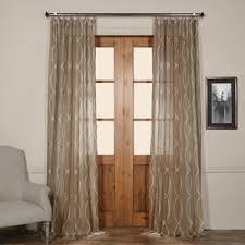 Tab Top Sheer Curtain Panels Tab Top Curtains U0026 Drapes You U0027ll Love Wayfair