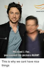 Michael J Fox Meme - wwwmicha michael j fox you ruined the picture again this is why we