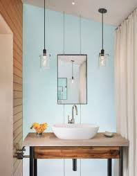 Bathroom Hanging Light Fixtures Bathroom Hanging Lights Vanity That Hang From Ceiling Home Depot