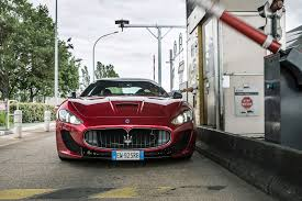 maserati granturismo convertible red interior some like it yacht driving a maserati to monaco by car magazine