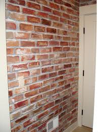 best 25 faux brick walls ideas on pinterest faux brick panels