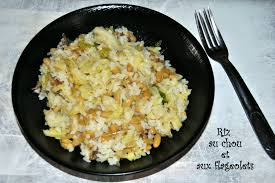cuisiner des flageolets secs riz au chou et aux flageolets végétarienne à la cagne