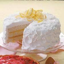 Coconut Cake Recipe Lemon Coconut Cake Recipe Taste Of Home