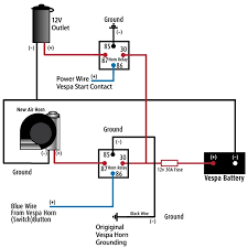 car horn relay wiring schematic wiring diagrams