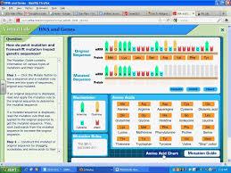 Mcgraw Hill Worksheet Answers Bio Mutations Virtual Lab Avi Youtube
