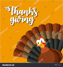 thanksgiving background image happy thanksgiving card cartoon turkey icon stock vector 517184773