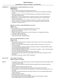 Obiee Business Analyst Entry Level Business Analyst Resume To Get Regulatory Reporting Analyst Resume Samples Velvet Jobs