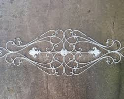 Fleur De Lis Headboard Fleur De Lis Metal Wall Decor Scrolled Wrought Iron Wall