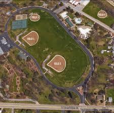 Baseball Map Blanchette Baseball Softball Fields St Charles Parks And Recreation