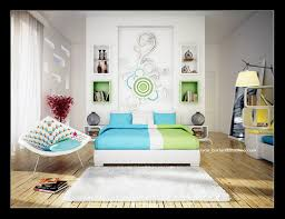 Green Color Bedrooms - Designed bedrooms