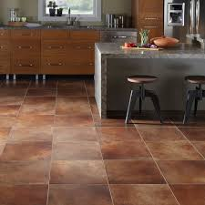 flooring ideas brown marble look vinyl floor tiles for kitchen