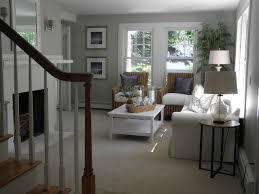 Coastal Cottage Living Rooms by Michele Hagen Updated Beach Cottage Eclectic Living Room