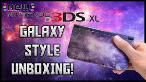 nintendo 3ds xl amazon black friday 2017 new galaxy style nintendo 3ds xl unboxing setup youtube