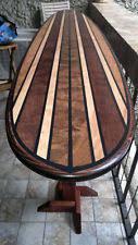 Surfboard Bar Table Wood Surfboard Ebay