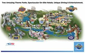Seaworld Orlando Park Map by Orlando Map Maps Orlando Florida Usa