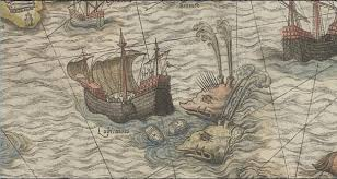 the enchanting sea monsters on medieval maps science smithsonian