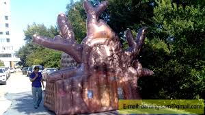 inflatable tree house youtube