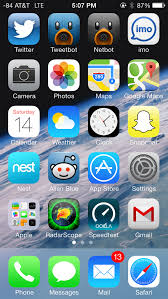 Iphone 5 Symbols On Top Bar The Ios 7 Review