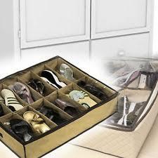 closet under bed 4x shoe organizer closet under bed storage as on tv ebay