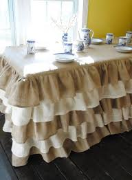 How To Make A Table Skirt by Craft Show Table Covers Samples And Ideas Craft Maker Pro