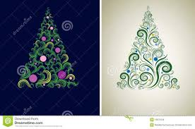two christmas tree backgrounds royalty free stock image image