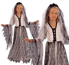 Corpse Bride Halloween Costume Childrens Corpse Bride Fancy Dress Costume Halloween Zombie
