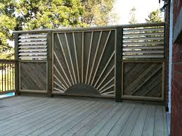 deck privacy wall privacy screens built by flann fence u0026 deck