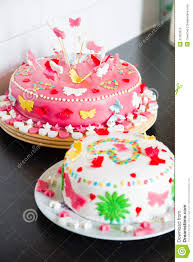 delicious marzipan decorated cakes stock photos image 31303913