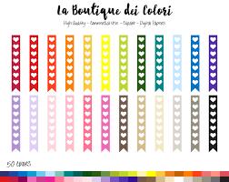 List Of Flags 50 Rainbow Flag Checklist Clipart Cute Graphics Png Heart