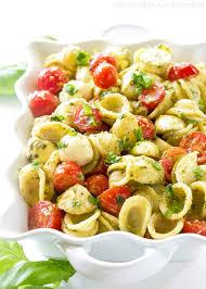 pasta salda caprese pesto pasta salad the who ate everything