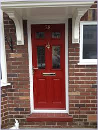 front door colors for brown brick house painting home design