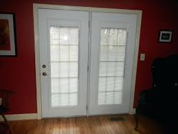 Patio French Doors With Built In Blinds by Sliding Patio Doors With Built In Blinds Canada Patio Doors With