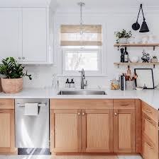 white oak wood kitchen cabinets 8 ways to add wood features to your home