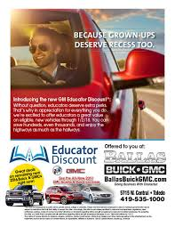 how much can a dealer discount a new car ballas buick gmc is a toledo buick gmc dealer and a new car and