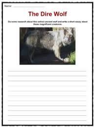 wolf facts worksheets u0026 habitat information for kids