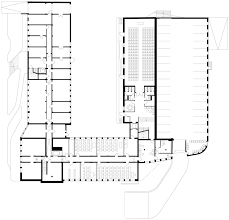 H Shaped Floor Plan Schlump One Offices Hamburg By J Mayer H
