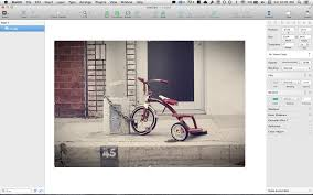 how to create a big blurry image with photoshop illustrator or