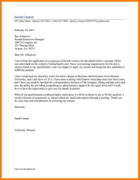 sample cover letter for any vacant position amplifiermountain org