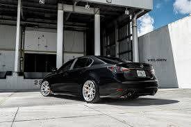 lexus wrapped lexus gsf on velgen forged velgen wheels