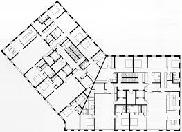 Moma Floor Plan Moma Residential Tower Beijing 2007 Baumschlager Eberle