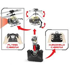 Radio Control Helicopters With Camera Spycam Nano Silverlit