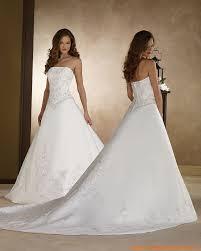 robe de mari e classique robe de mariée classique avec bustier satin broderie perles robe